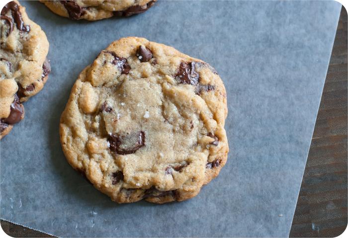 big batch NYT chocolate chip cookies