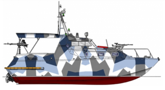 малий патрульний катер Калкан-М