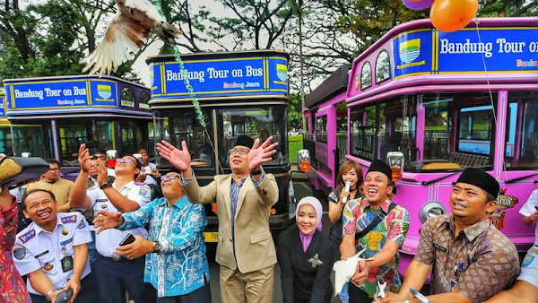 12 Bandros Anyar Siap Layani Rute Baru Wisata Kota Bandung