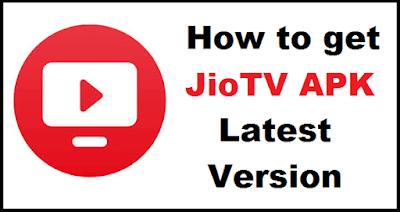 JioTV APK