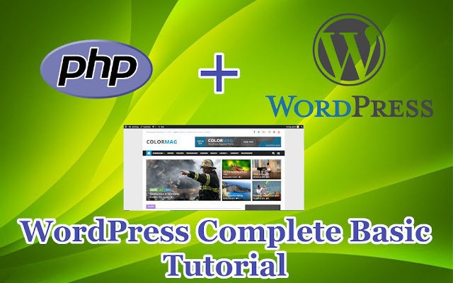 WordPress Complete Basic Tutorial