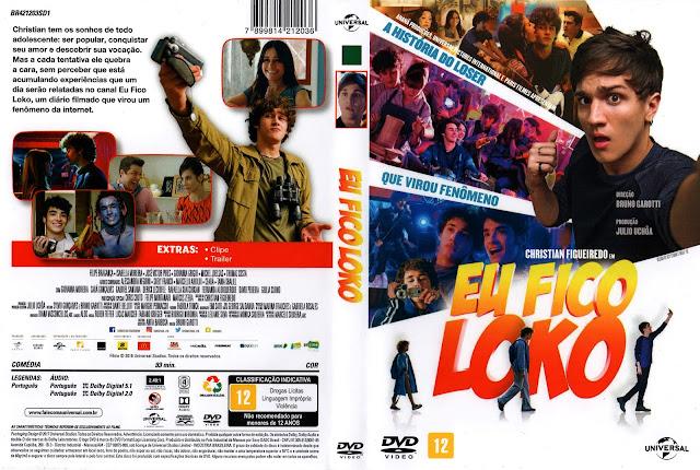 Capa DVD Eu Fico Loko