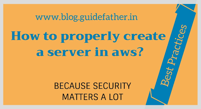 How to create a server in aws