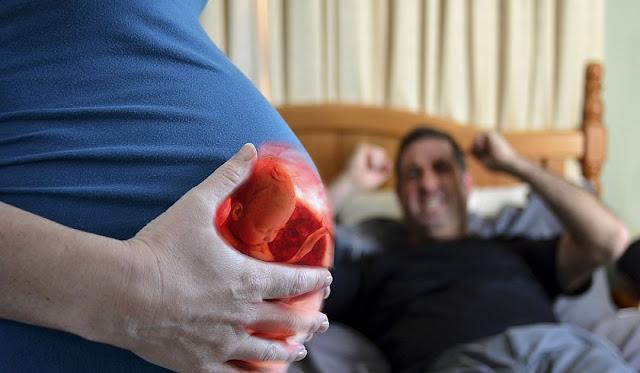 Nunca pelees ni discutas con una embarazada, el bebé también sufre