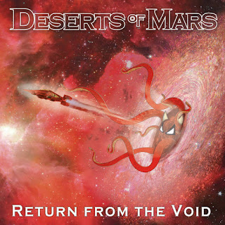 "DESERTS OF MARS new heavy rock EP ""Return from the Void"""