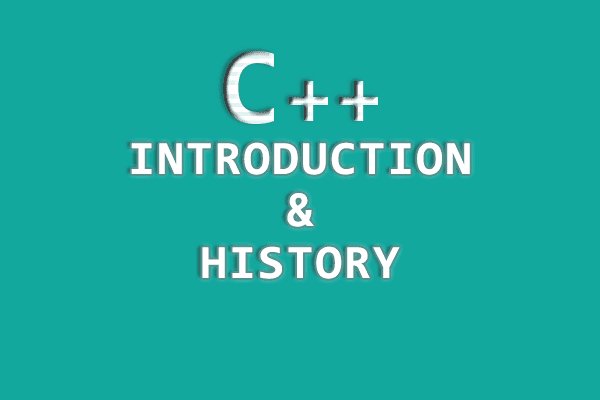 History of C Plus Plus