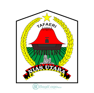 Kabupaten Nias Utara Logo Vector