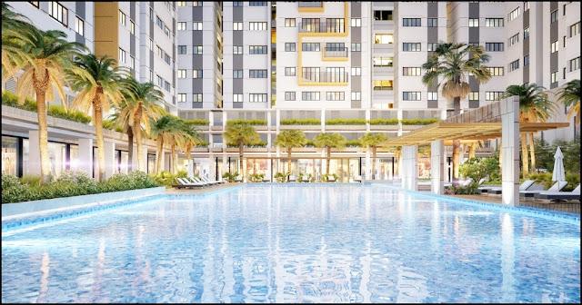 Tiện ích hồ bơi căn hộ Jamila Khang Điền Quận 9