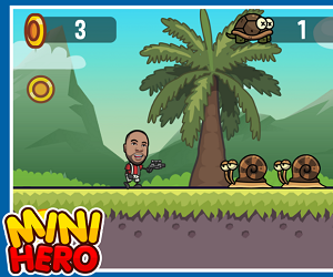 Arcade Game of the Month - Mini Hero