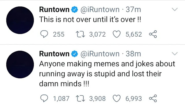 EndSARS! Singer Runtown Attacks Nigerians On Twitter, Expresses Disappointment