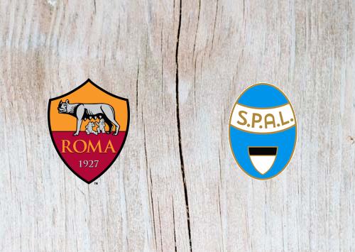 Roma vs SPAL 2013 Full Match & Highlights 20 October 2018