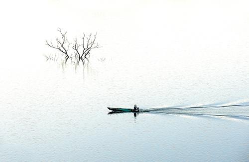 Nam Ka lake.