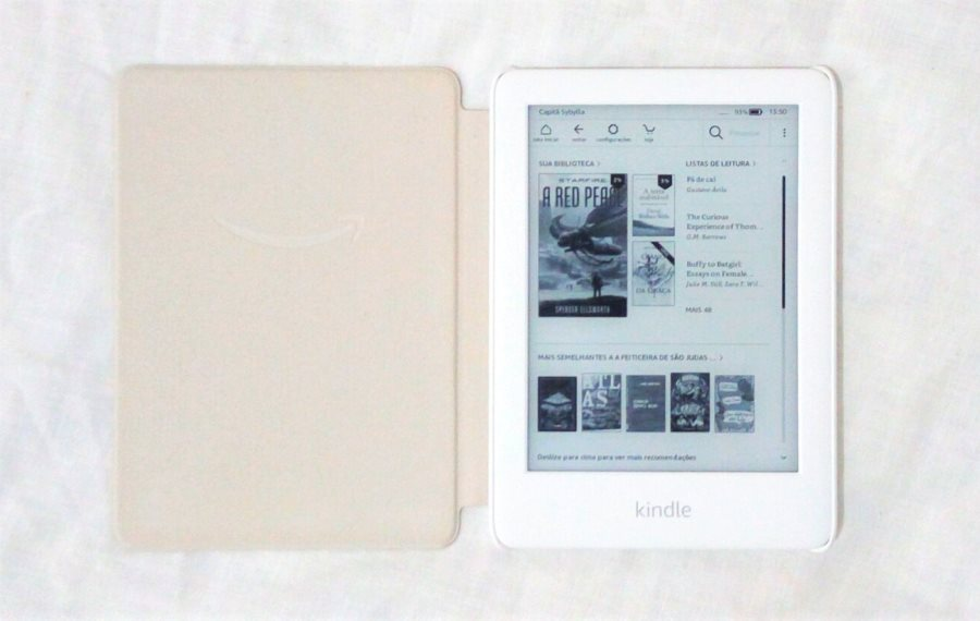 Novo Kindle 10ª geração: interface