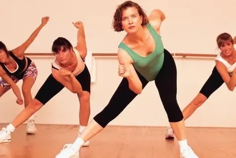 Not your typical aerobics class