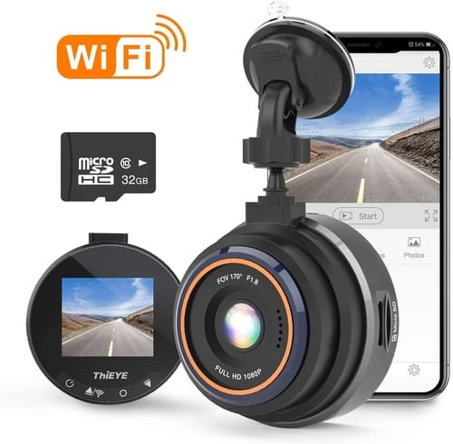Review ThiEYE Safeel Zero+ Full HD WiFi Car Dash Cam