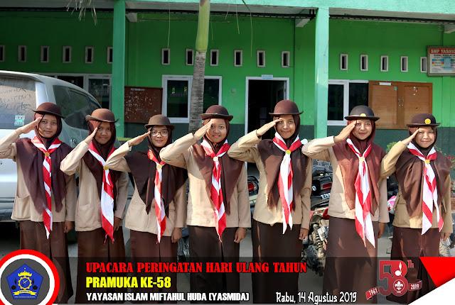 HUT Pram Ke 58 | Pramuka SMK Yasmida Ambarawa