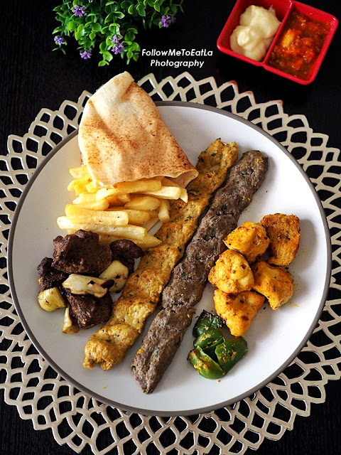 Mixed Grill Plate  RM 38.25  (RM 45 less 15%)