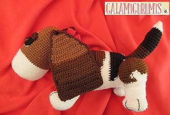 Amigurumi Pattern Crochet Boris Basset Hound Puppy Dog DIY Digital ... | 238x350