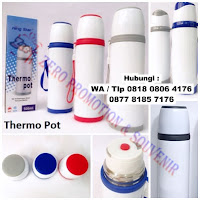 Termos Promosi, souvenir Termos Air Panas Tahan 24 Jam, Custom Logo di Thermos, Barang Promosi termos, stainless steel vakum termos