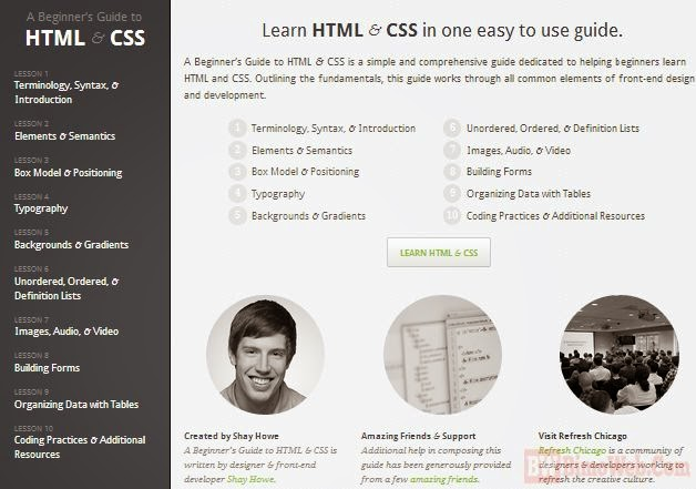 Amazing Guide to Learn HTML and CSS