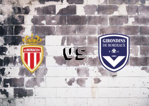 AS Mónaco vs Girondins de Burdeos  Resumen