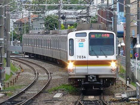 東急東横線 副都心線・西武線直通 各停 小手指行き3 東京メトロ7000系