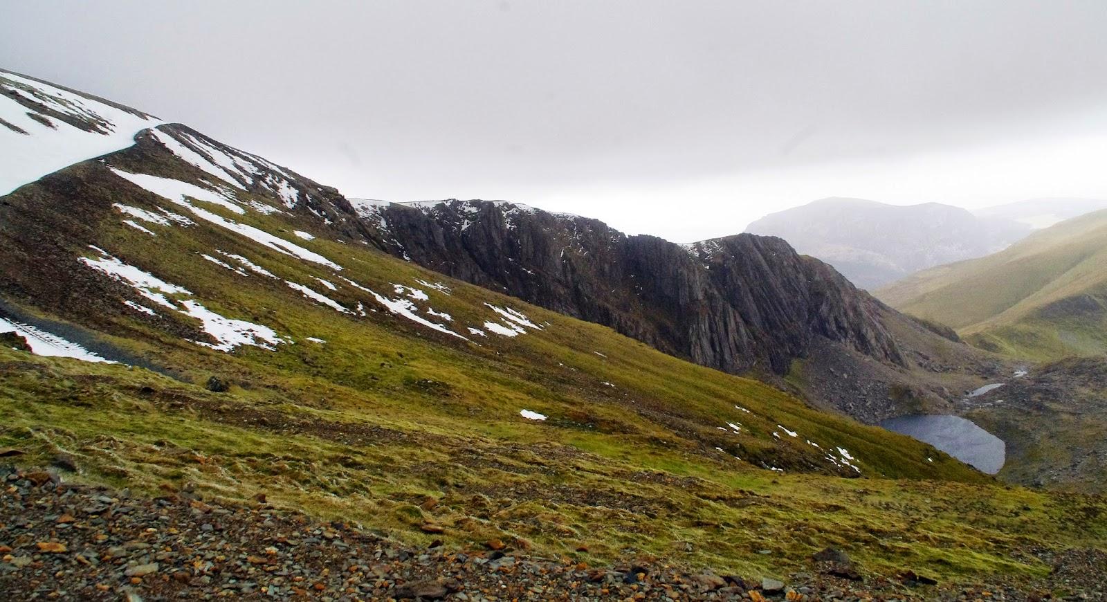 Hiking Mt Snowdon in Winter