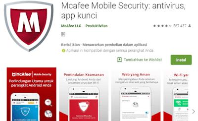 aplikasi anti virus yang mampu mencari tahu keberadaan ponsel yang hilang