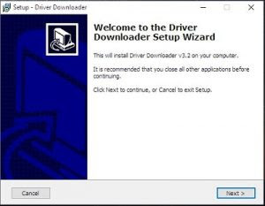 Run Driver Downloader A Administrator