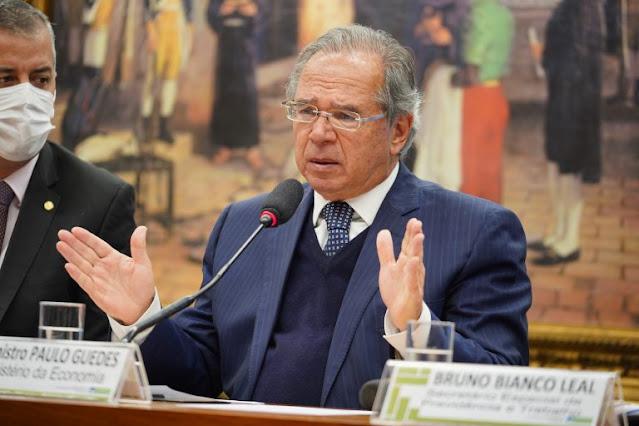 Plenário da Câmara convoca ministro Paulo Guedes para explicar sociedade em empresa em paraíso fiscal