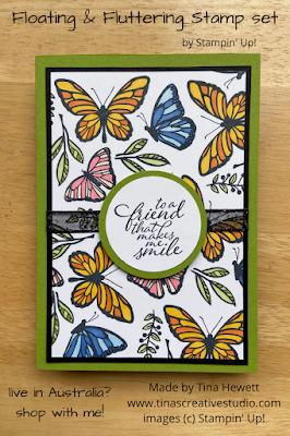 Floating & Fluttering card 3