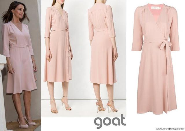 Princess Marie wore GOAT ballerina wrap dress