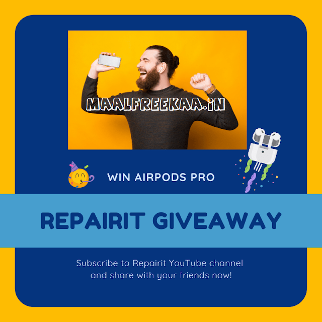 Get Free AirPods Pro By Wondhershare Giveaway