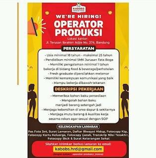 Lowongan Kerja Premium Kebab di Bandung Juli 2020
