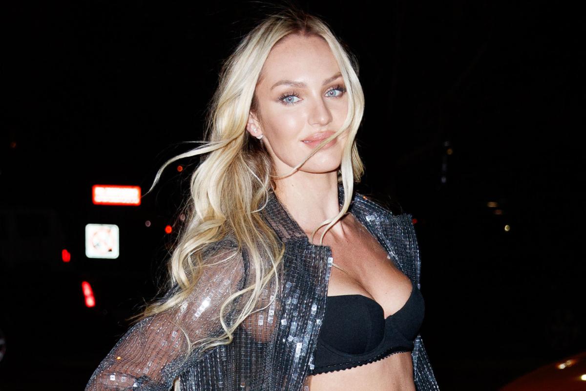 Candice Swanepoel Model seksi Afrika Selatan