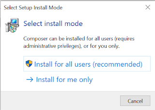 Install For All Users