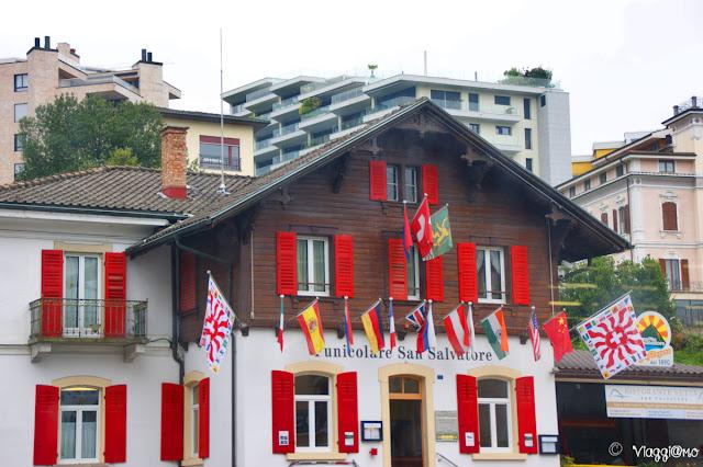 La funicolare di Lugano per salire sul San Salvatore
