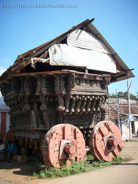 Chariot of Kulithalai Kadambar Temple - Dakshina Kasi