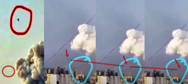 Beirut Dew Weapon Bombshell! Just Before Explosion a Mysterious Spherical Object Was Seen