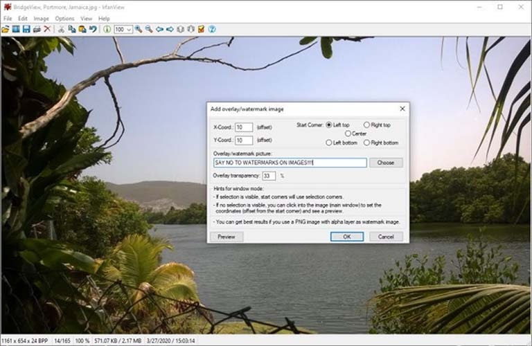 IrfanView Software Image Viewer Dan Editor Untuk Windows 10
