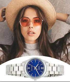 Casio Women's Standard Stainless Steel Watch