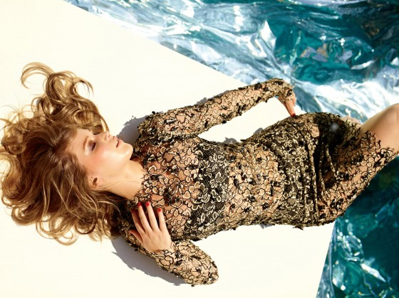 Jennifer Lawrence photoshoot Elle US December 2012