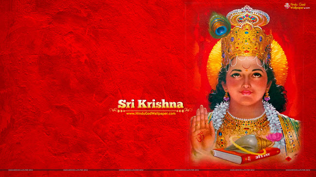 Shree Krishna Wallpaper HD