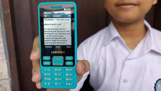 Ugnay: SMS learning service for students