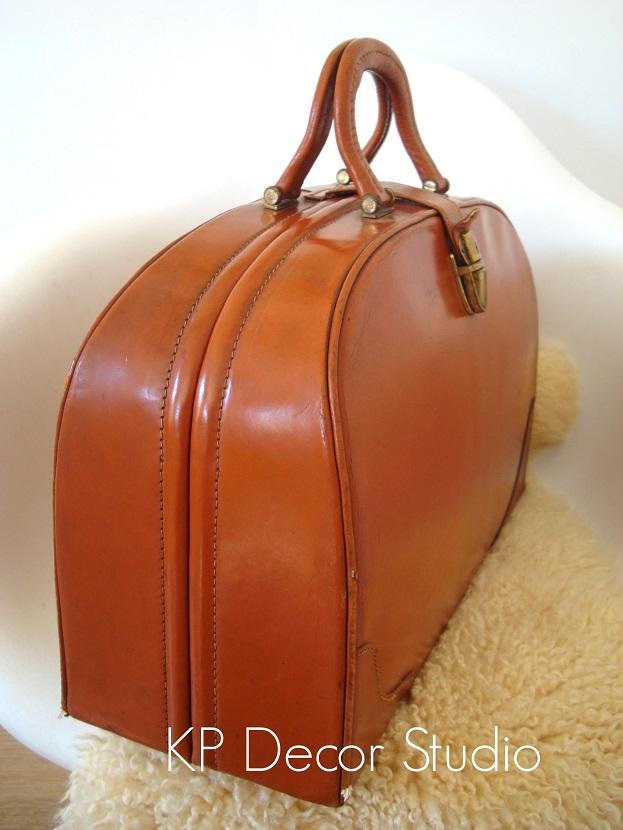 maleta, maletín, doctor, medico, antiguo, vintage, piel, cuero