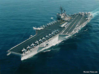 The U.S. Navy's Kitty Hawk class super carriers were a growth in Forrestel class vessels. Three Kitty Hawk class ships were built in 1960 and all of these ships are currently in discommissioned. The initial design for the class was called SCB 127, and Kitty Hawk and Constellation completed the design of SCB 127A.