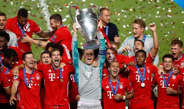 German Giant Bayern Munich Defeat Sevilla 2-1 To Win UEFA Super Cup