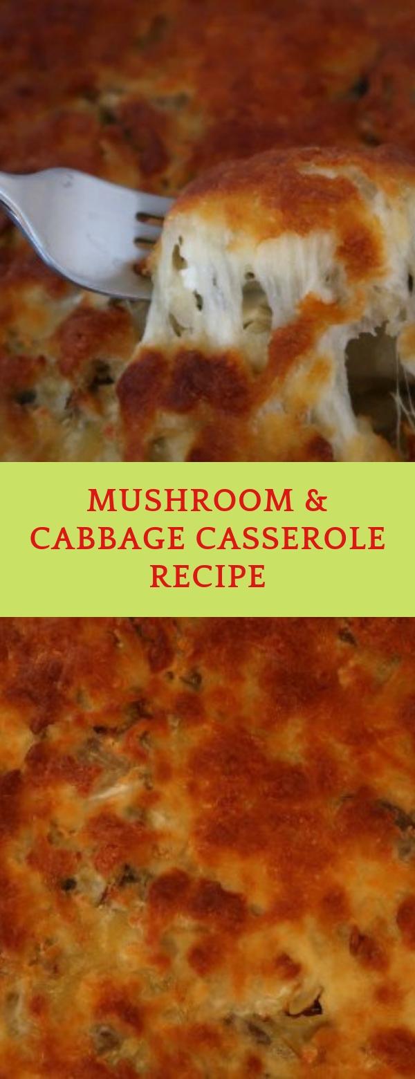 Mushroom & Cabbage Casserole Recipe