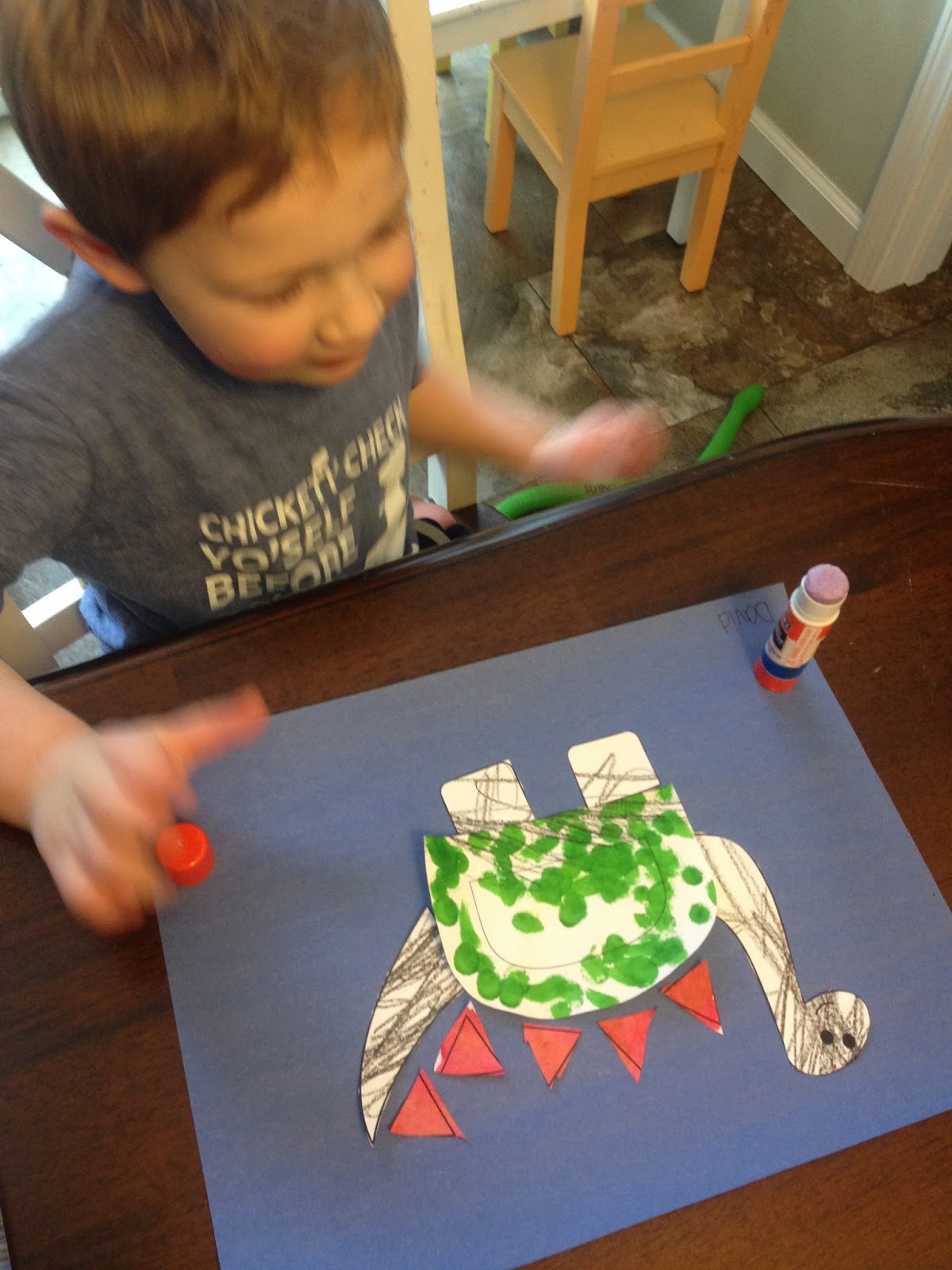 Mama S Little Homeschool Preschool Dinosaur Day Amp Letter