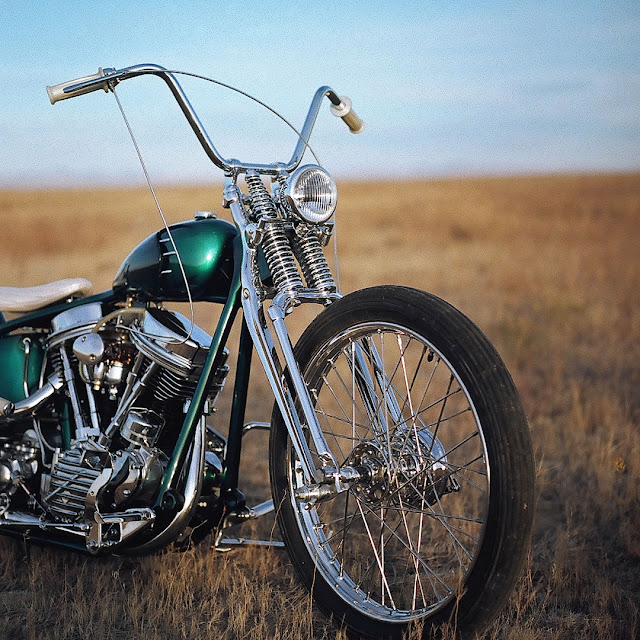 Harley Davidson Panhead 1951 By Small City Cycles Hell Kustom